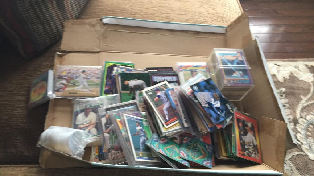 Huge shoebox full of baseball cards loaded with - 6