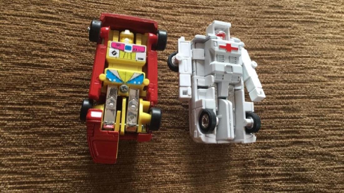 Vintage 1980s Go Bot's  toys