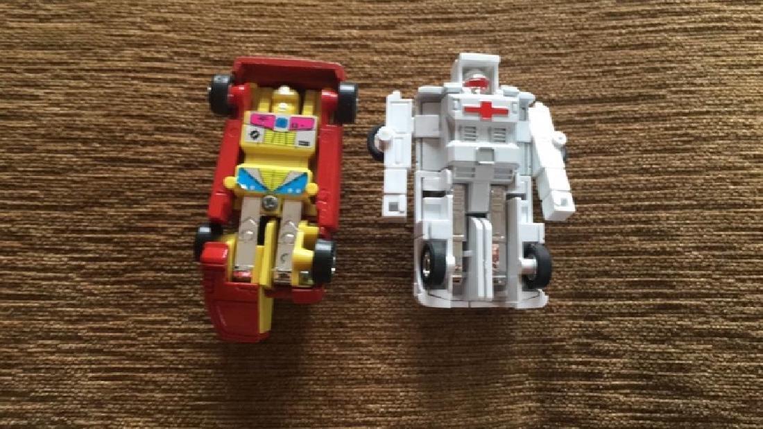 Vintage 1980s Go Bot's  toys - 2