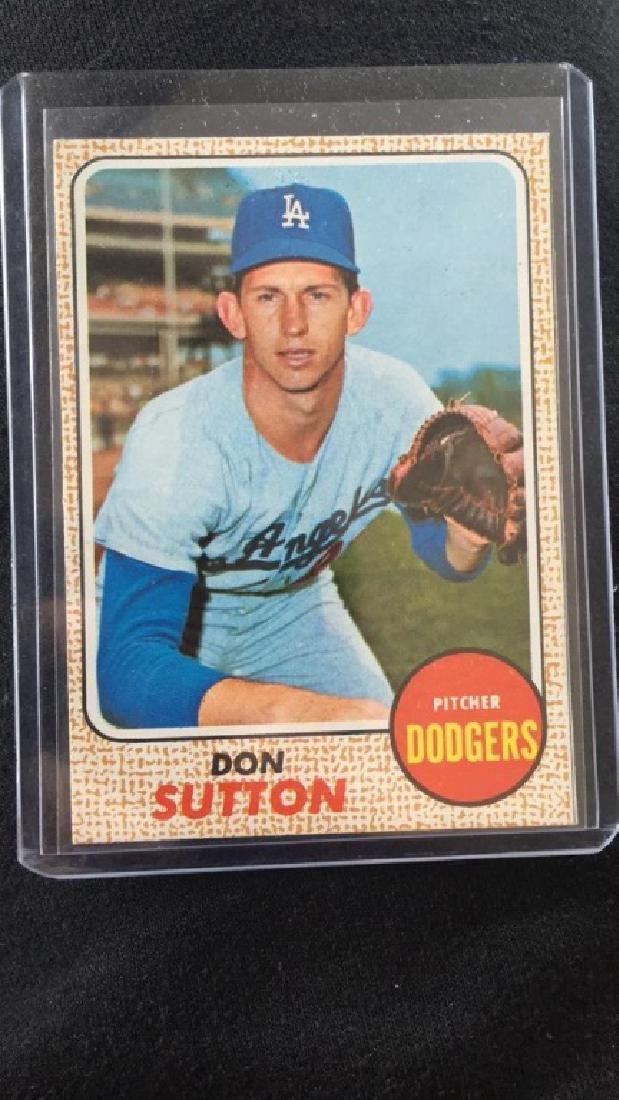 Don Sutton 1968 Topps