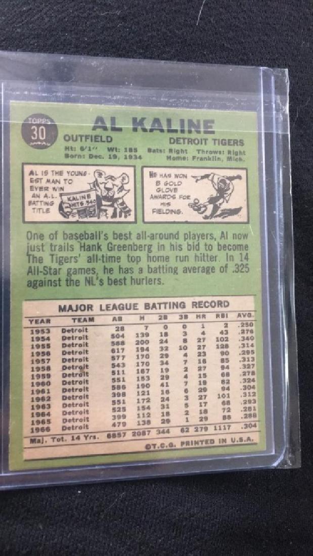 Al KALINE 1967 Topps - 2