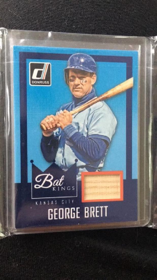 George Brett 2016 Donruss bat Kings bat card