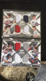 2016 elite extradition quad patch rookies lot of