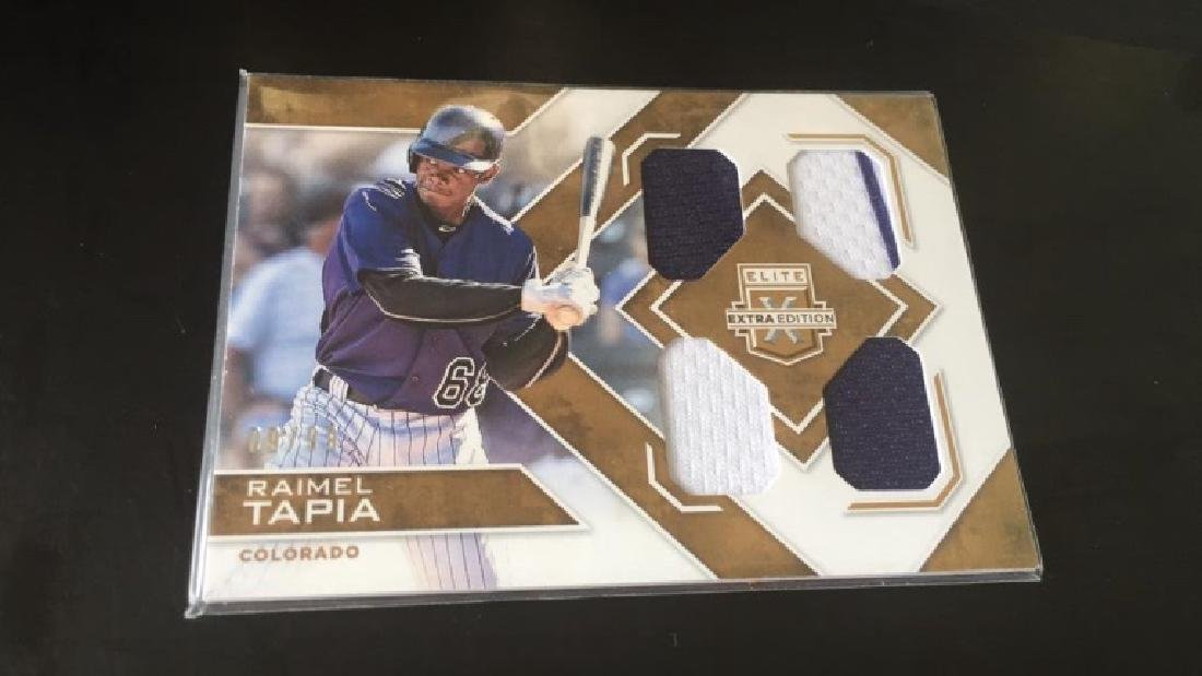 Raimel Tapia 2016 elite extra quad patch/99
