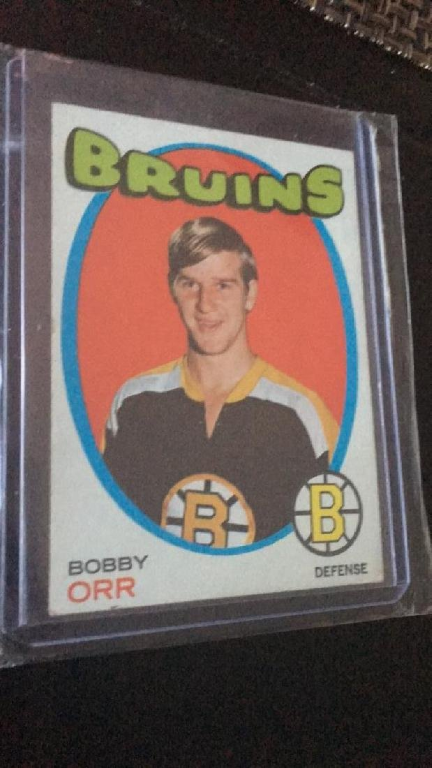 Bobby Orr 1971-72 Topps vintage card