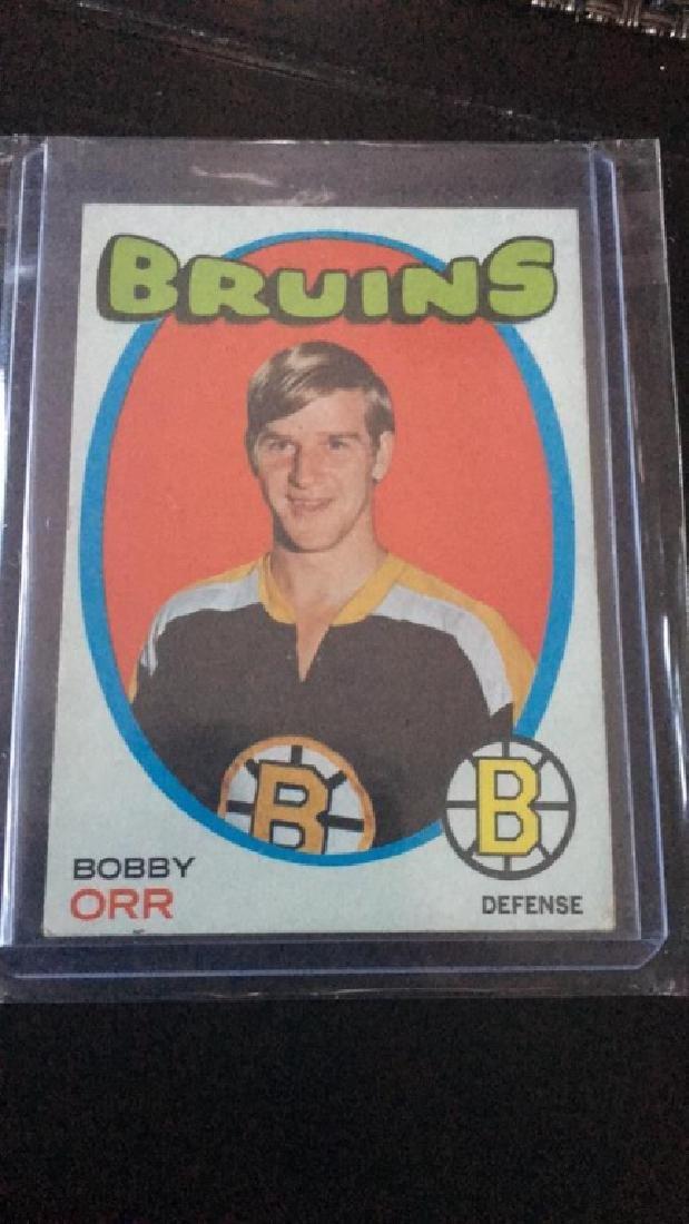 Bobby Orr 1971-72 Topps vintage card - 2
