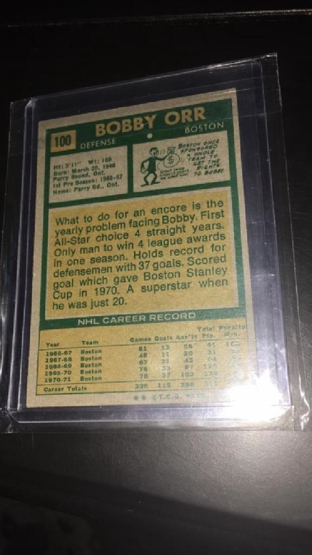 Bobby Orr 1971-72 Topps vintage card - 4