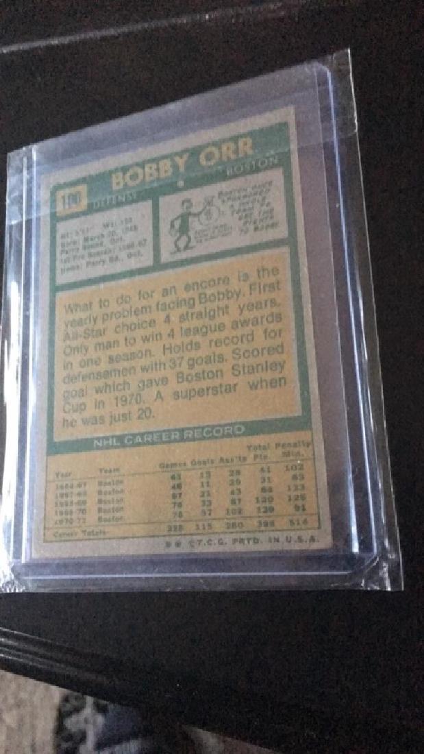 Bobby Orr 1971-72 Topps vintage card - 5