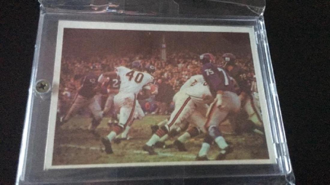 1966 PHILADELPHIA BEARS PLAY/ GALE SAYERS #39 RC