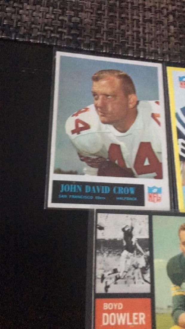 Vintage football car lot John David Crow John - 2
