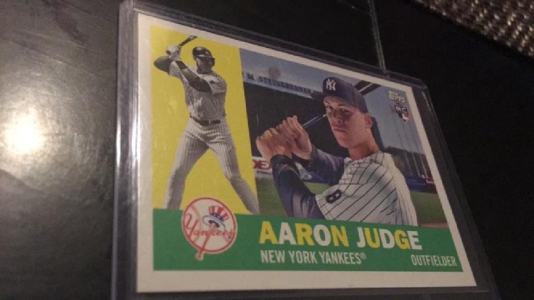 Aaron Judge 2017 Topps heritage RC