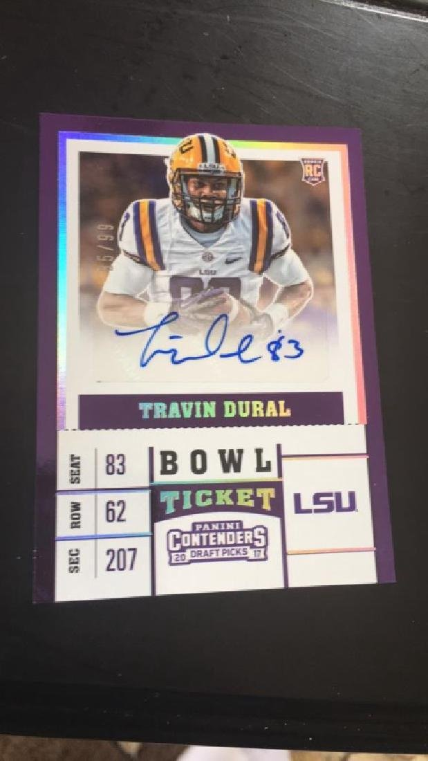 Travin Dural contenders auto sp /99