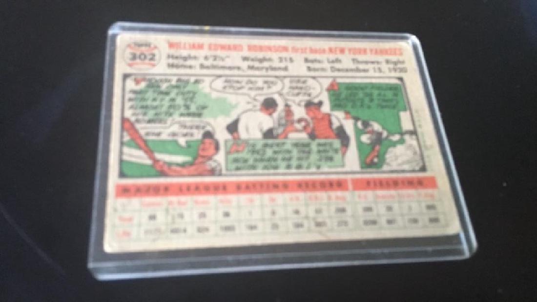 Eddie Robinson 1956 tops New York Yankees - 3