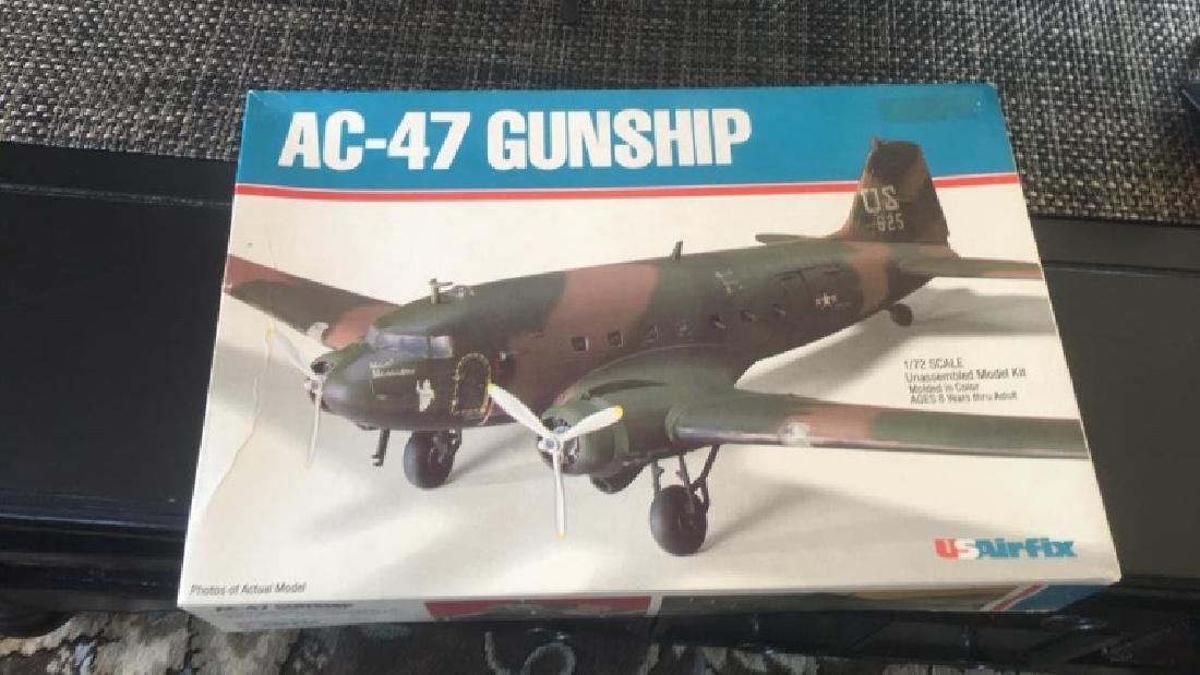 usairfix model AC-47 Gunship Brand New