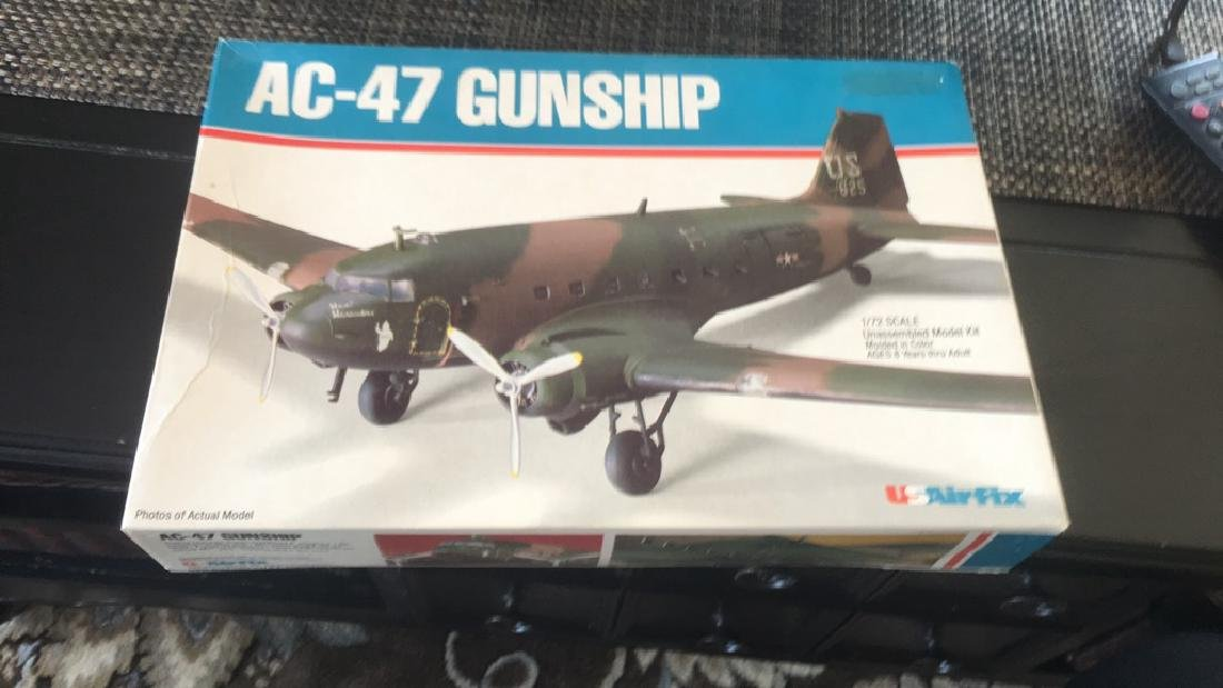 usairfix model AC-47 Gunship Brand New - 2