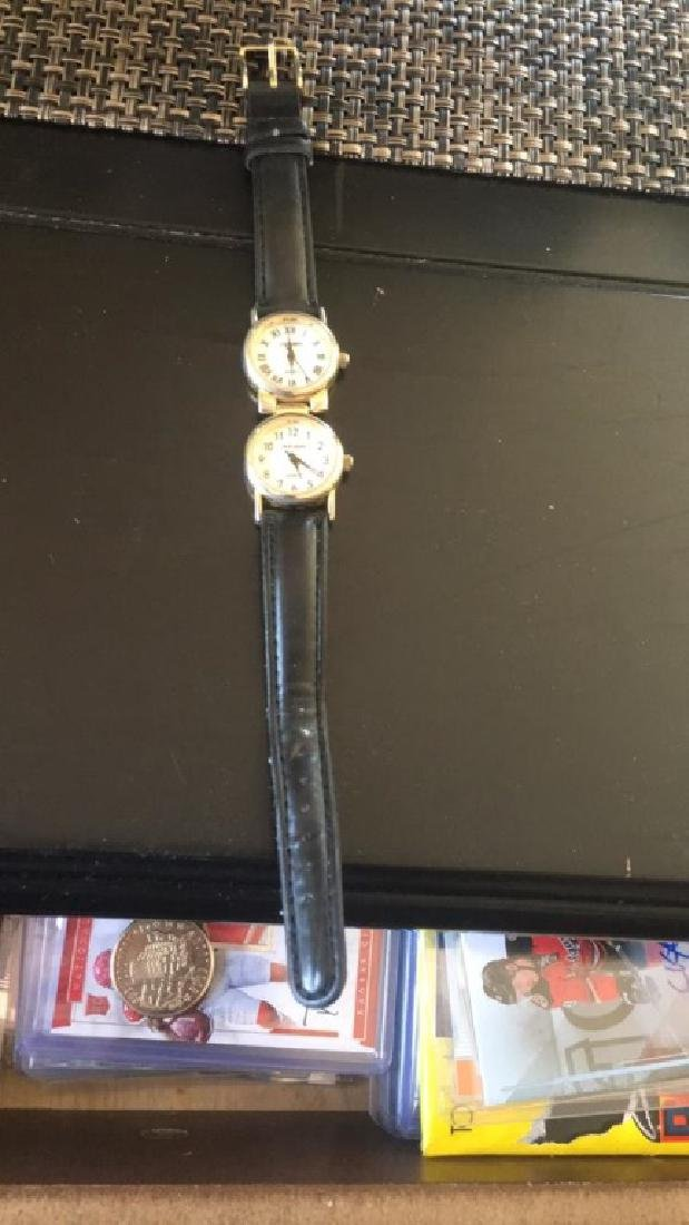 Louis Arden ladies watch with 2 faces