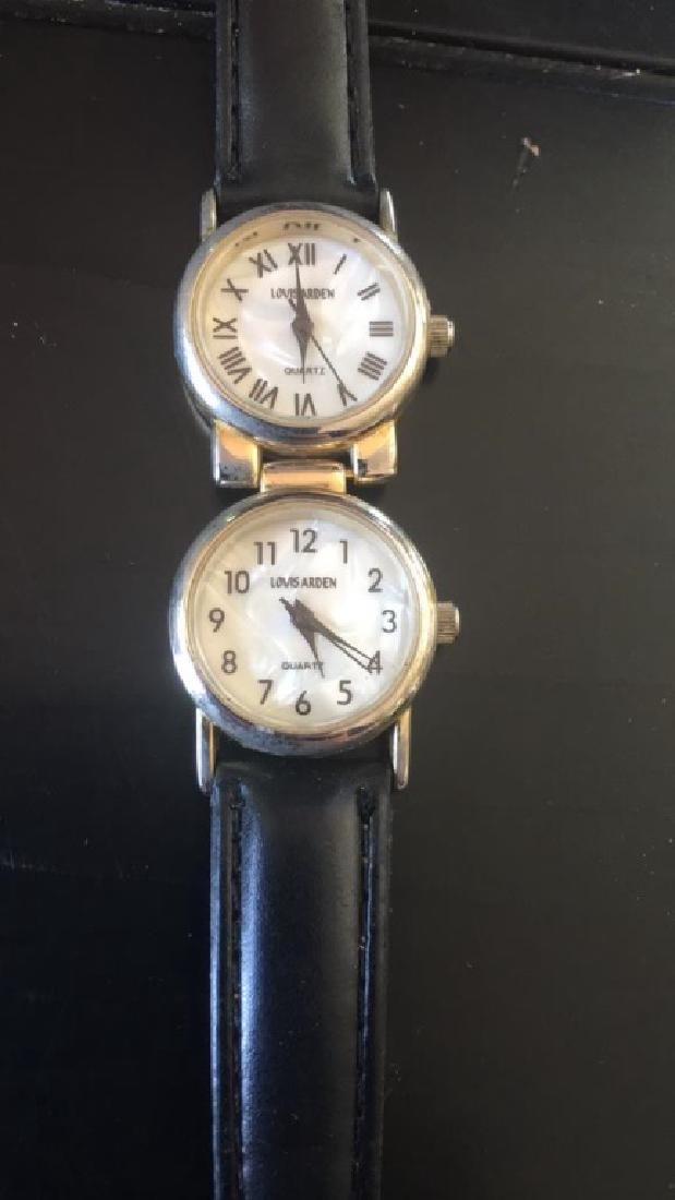 Louis Arden ladies watch with 2 faces - 2