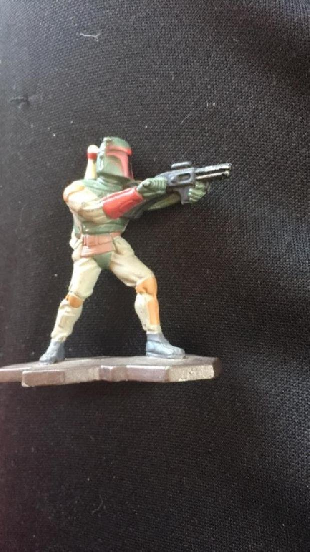 Action masters 1994 Star Wars metal figure Boba - 2