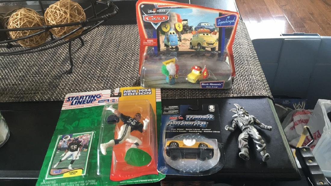 Mix toy lot with Disney cars and more