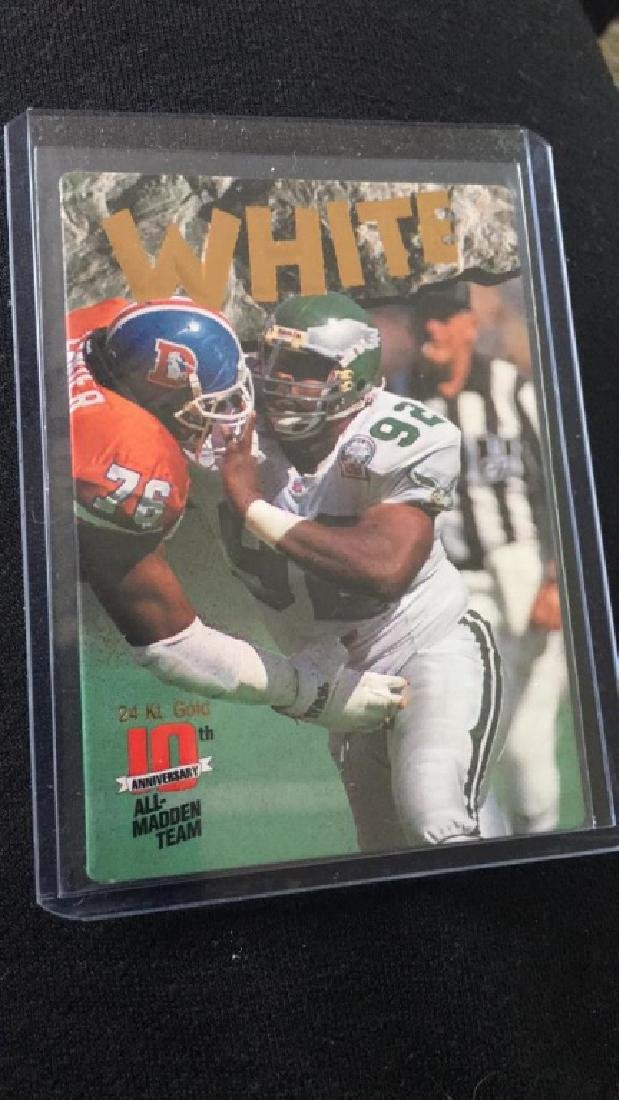 Reggie white 1993 action-packed all mad and team
