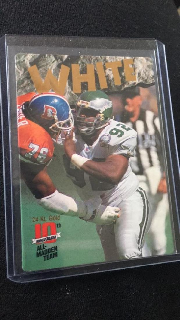 Reggie white 1993 action-packed all mad and team - 2
