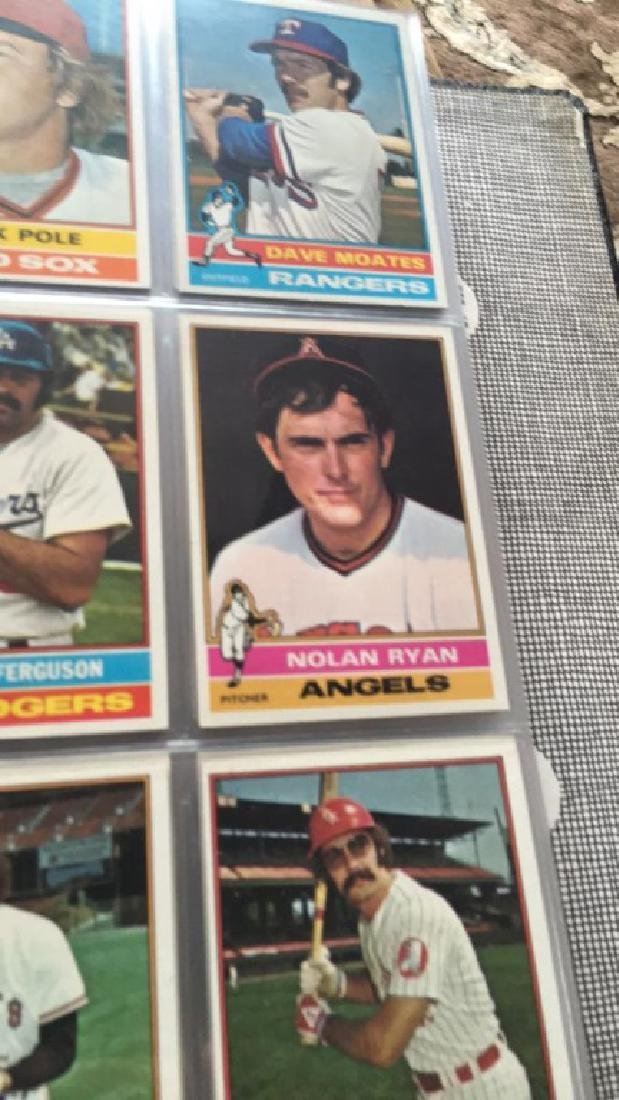1976 Topps Complete set in great condition really - 10