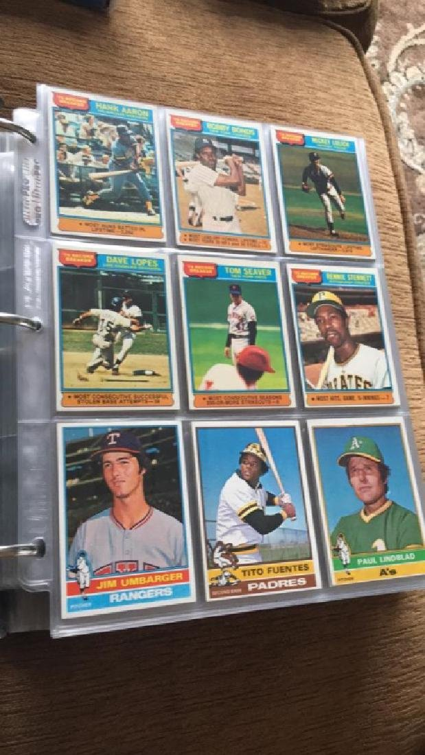 1976 Topps Complete set in great condition really
