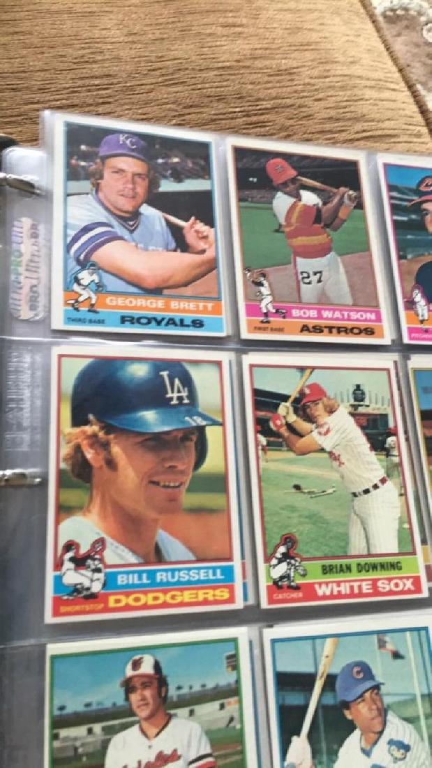 1976 Topps Complete set in great condition really - 4