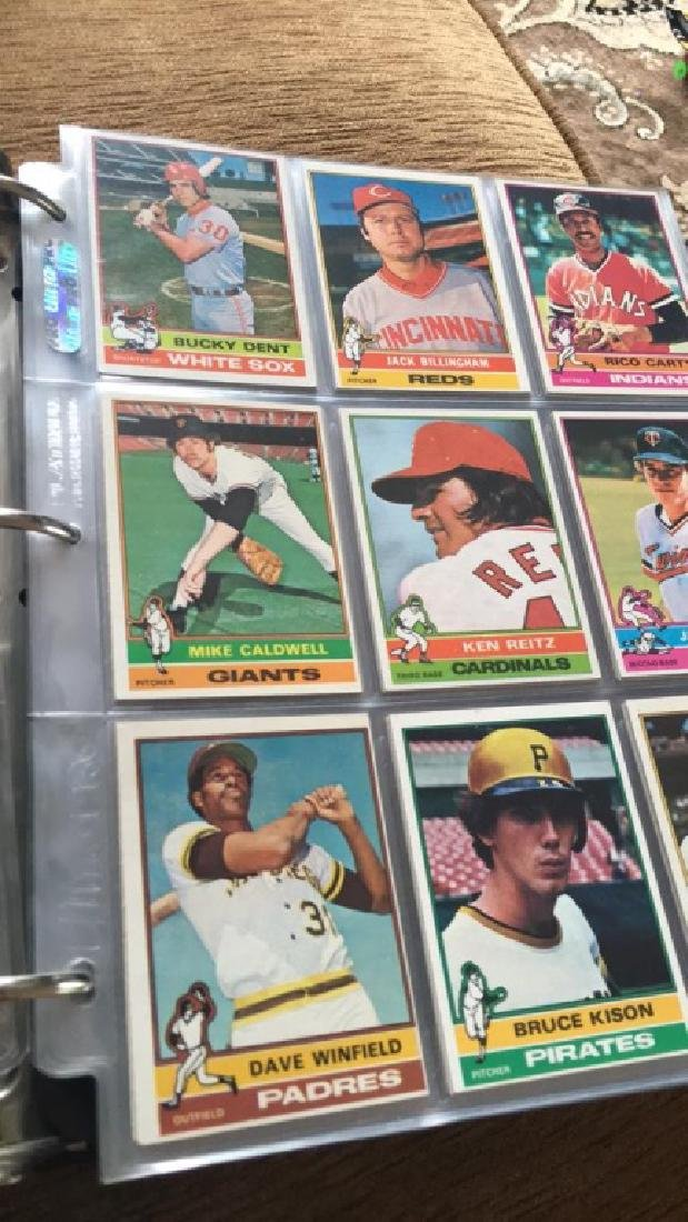 1976 Topps Complete set in great condition really - 6