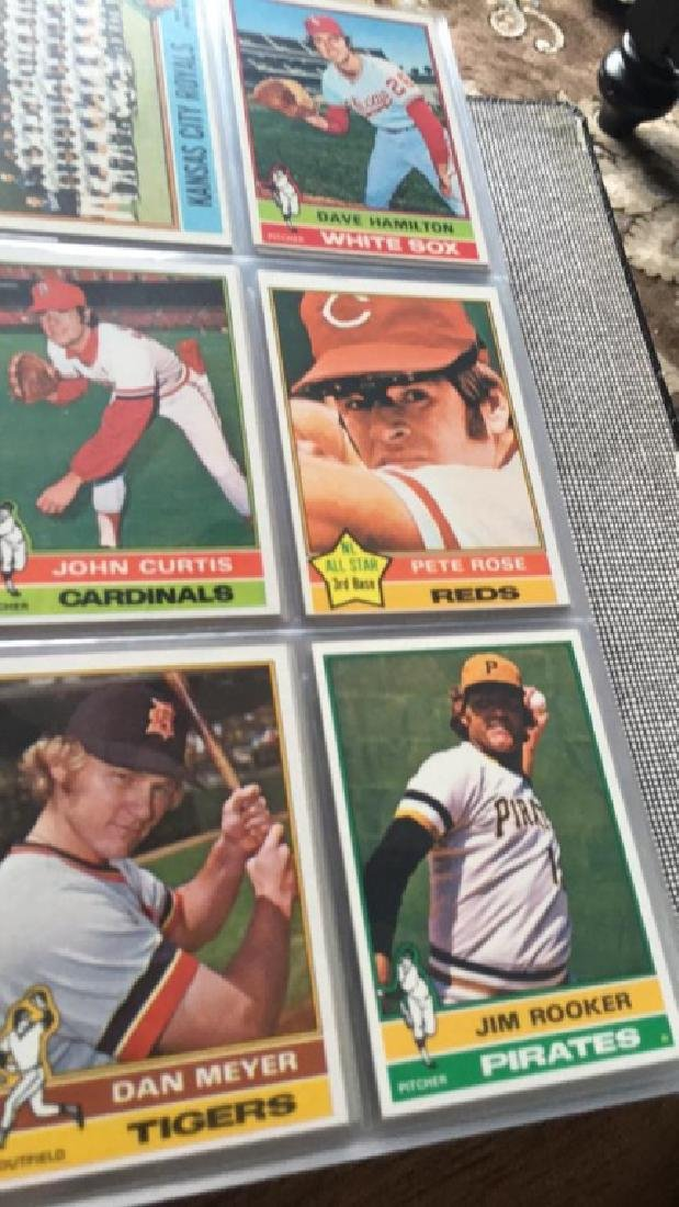 1976 Topps Complete set in great condition really - 7