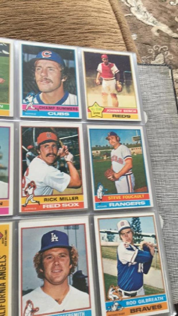 1976 Topps Complete set in great condition really - 8