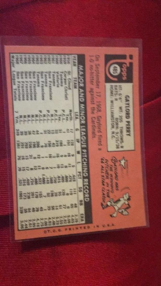 Gaylord Perry 1969 Topps - 2