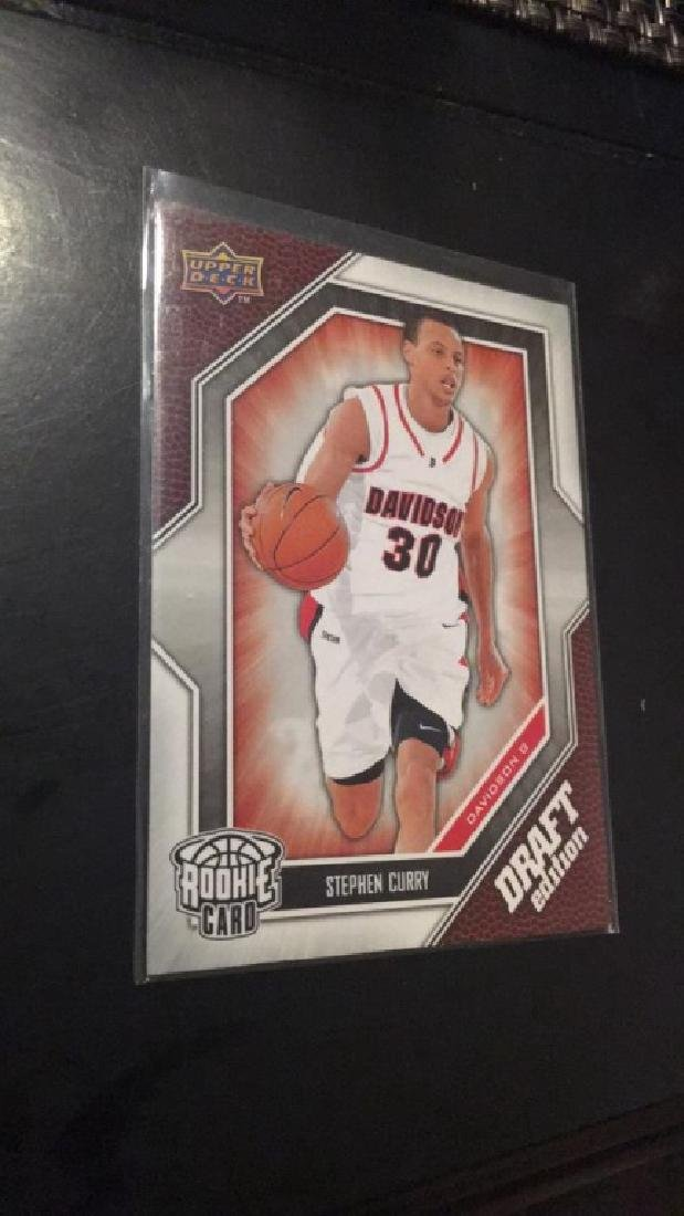 Steph Curry UD Draft RC