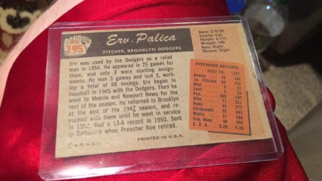 Erv Palica 1955 Bowman - 2