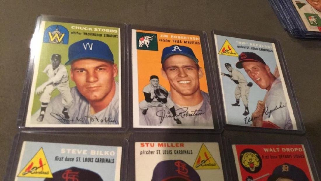 1954 Topps 6 card lot in nice shape:Truckstops - 2