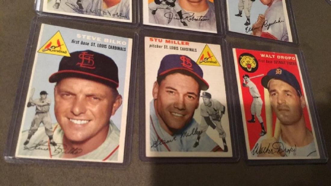 1954 Topps 6 card lot in nice shape:Truckstops - 3