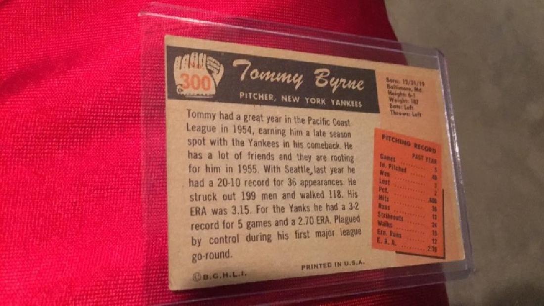 Tommy Byrne 1955 Bowman - 2