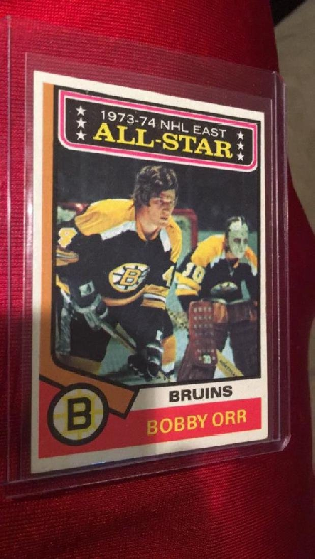Bobby Orr 1974 Topps all star