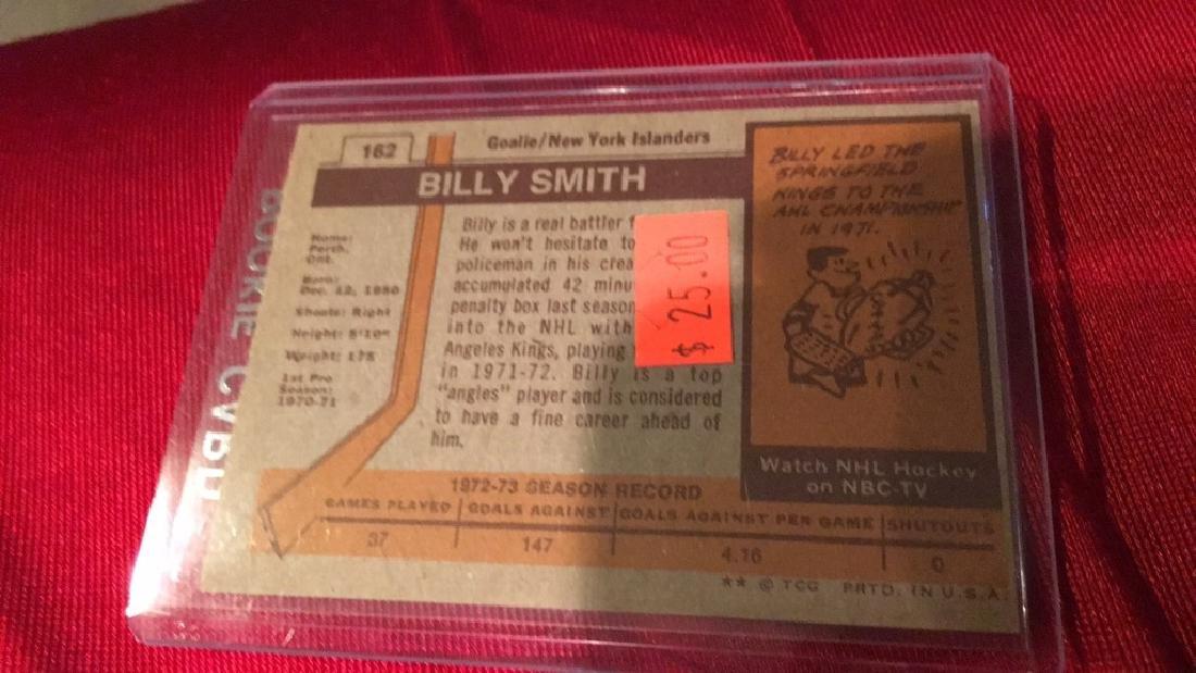 Billy Smith 1973-74 RC - 2