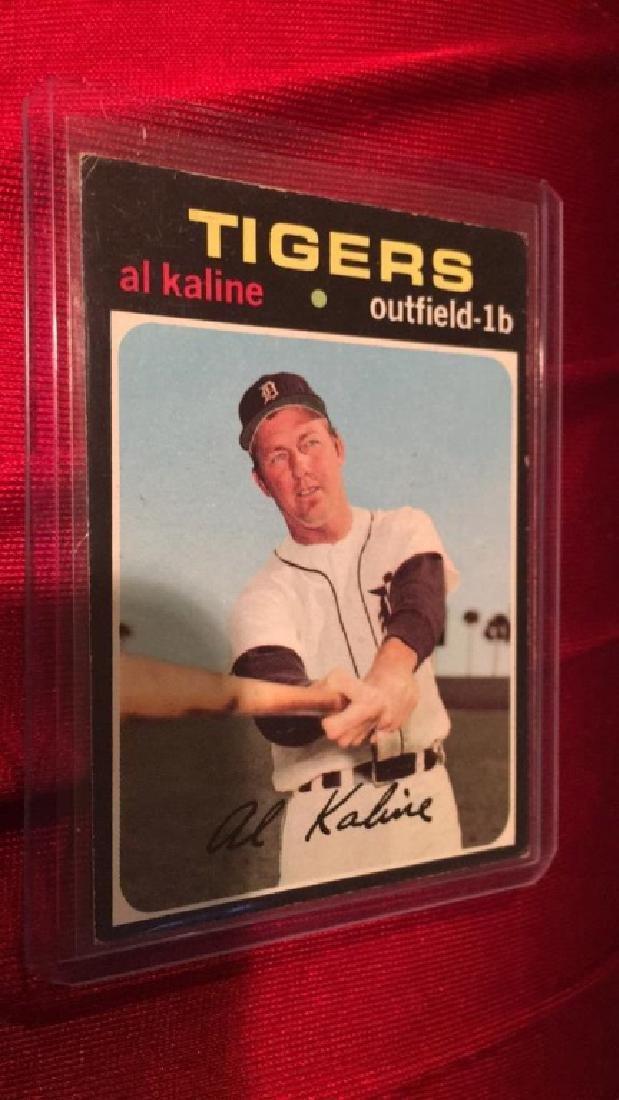 Al KALINE 1971 Topps