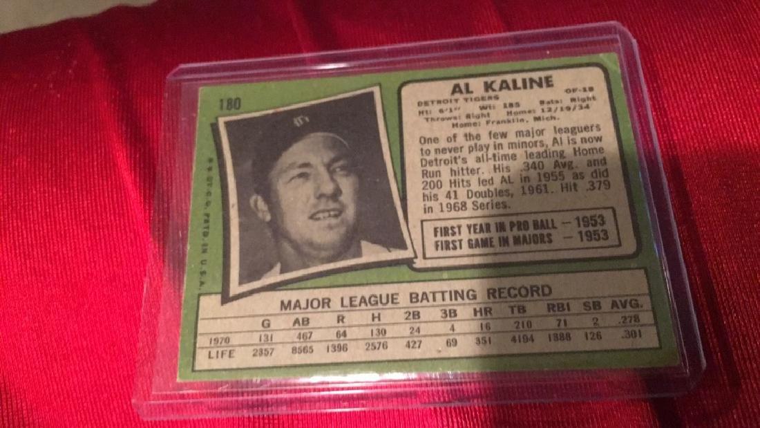 Al KALINE 1971 Topps - 2