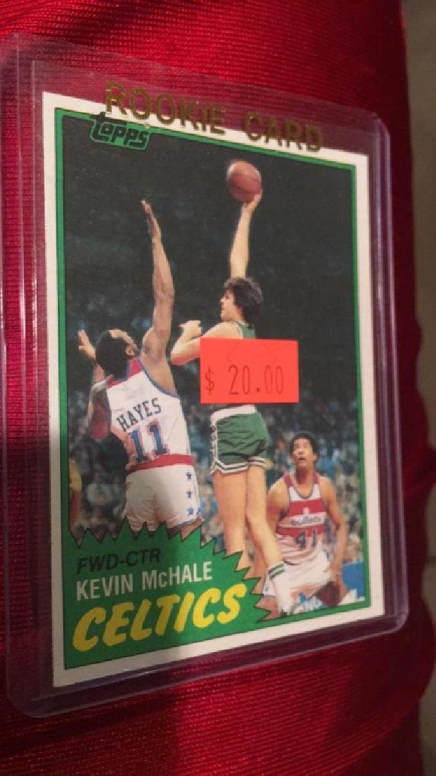 Kevin Mchale 1981-82 Topps RC