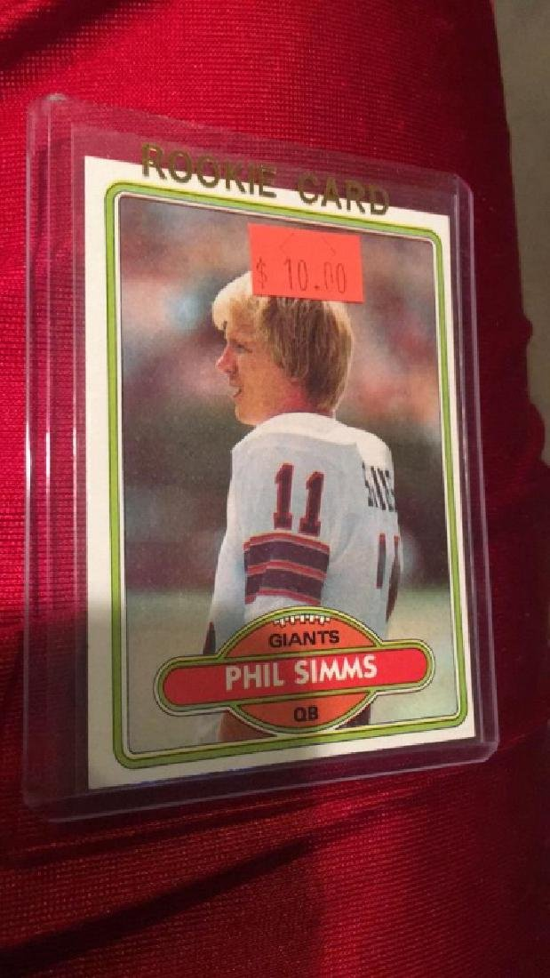 Phil Simms 1980 Topps RC