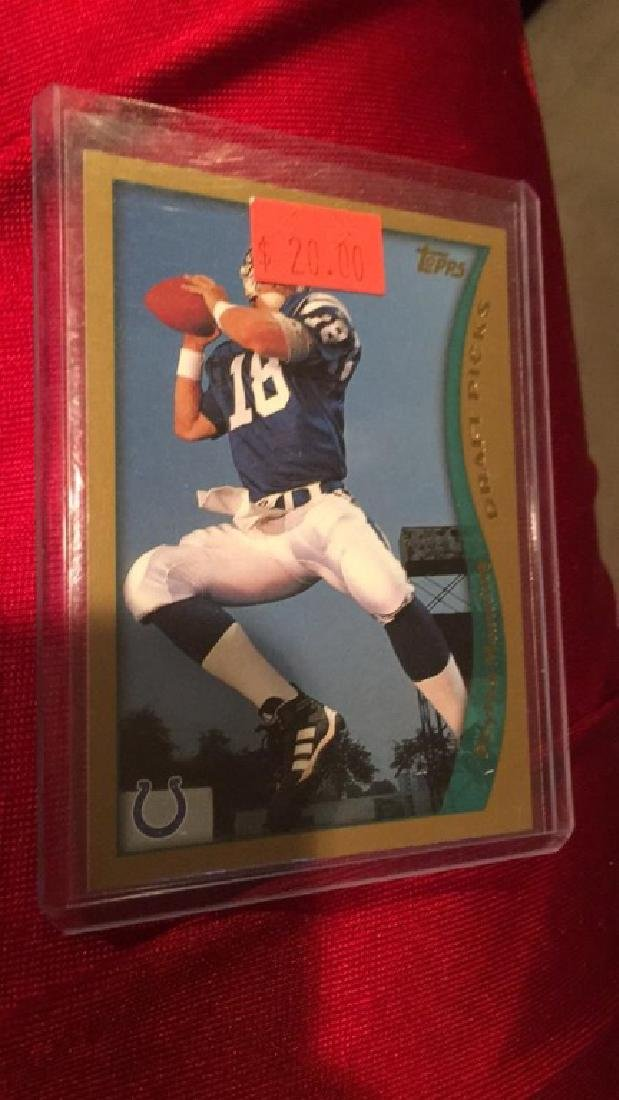 Peyton Manning 1998 Topps RC
