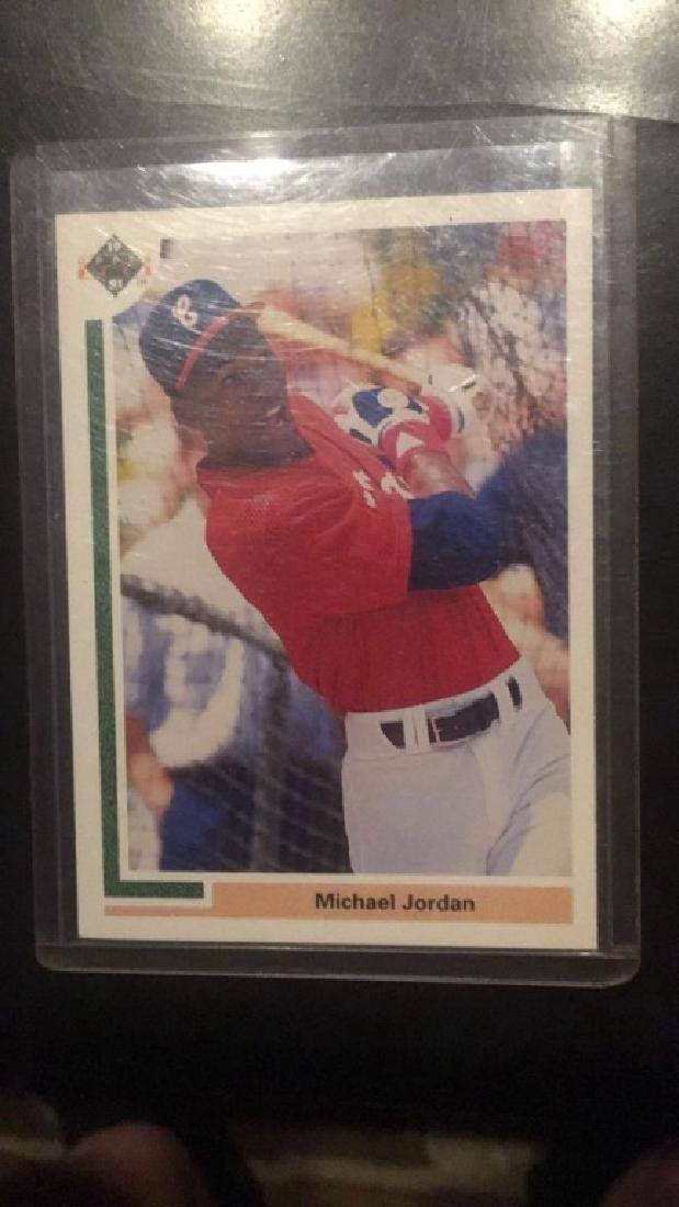 Michael Jordan 1991 SP baseball RC