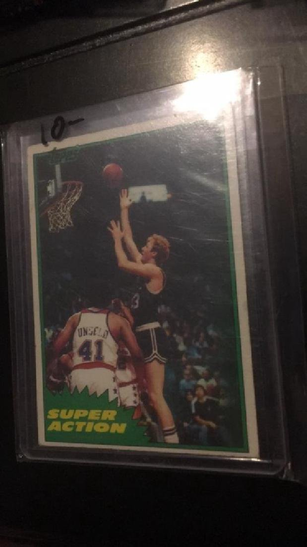 Larry Bird 1981-82 Topps
