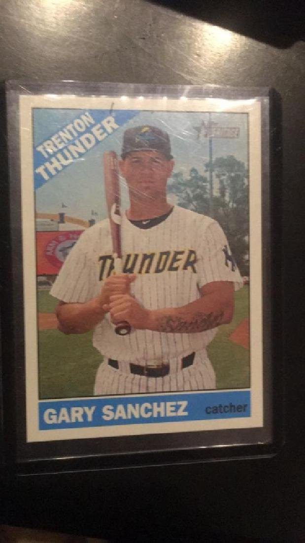 Gary Sanchez 2015 Topps heritage RC