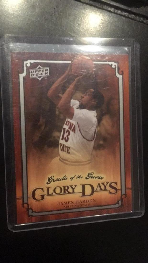 James Harden 2010 greats of the game RC