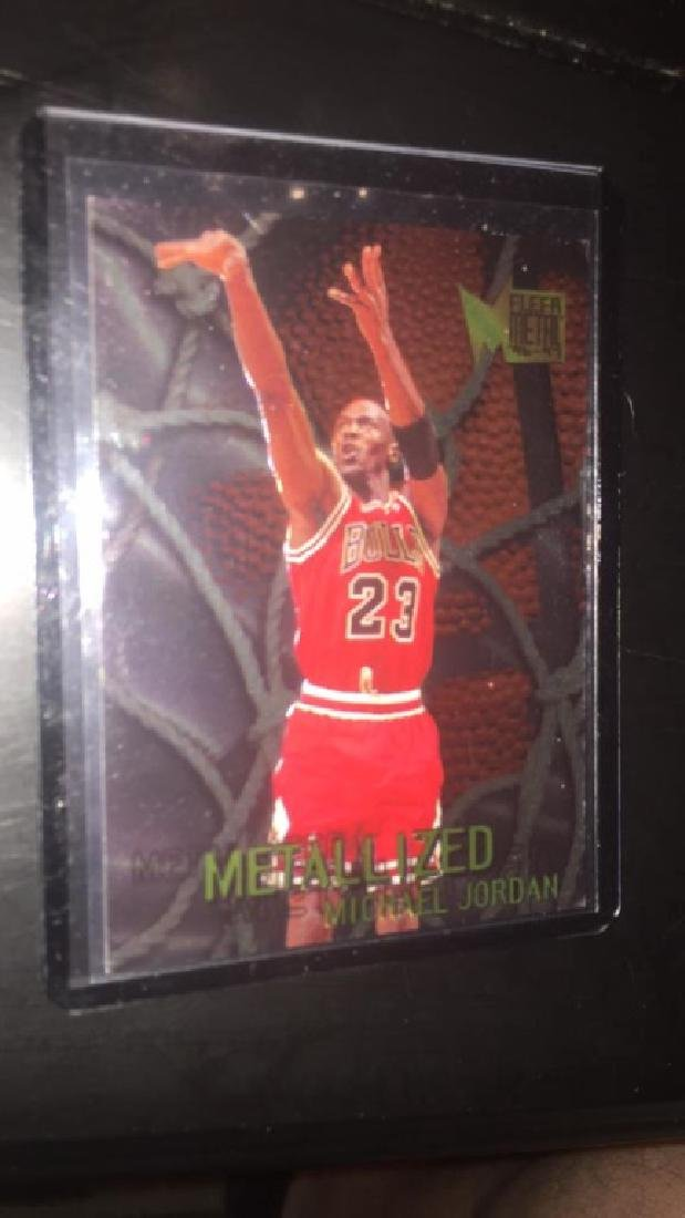 Michael Jordan 1996 fleer metal metallized