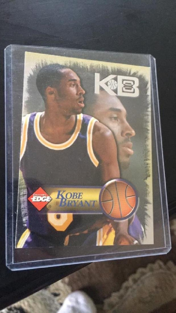Kobe Bryant 1998 collectors edge
